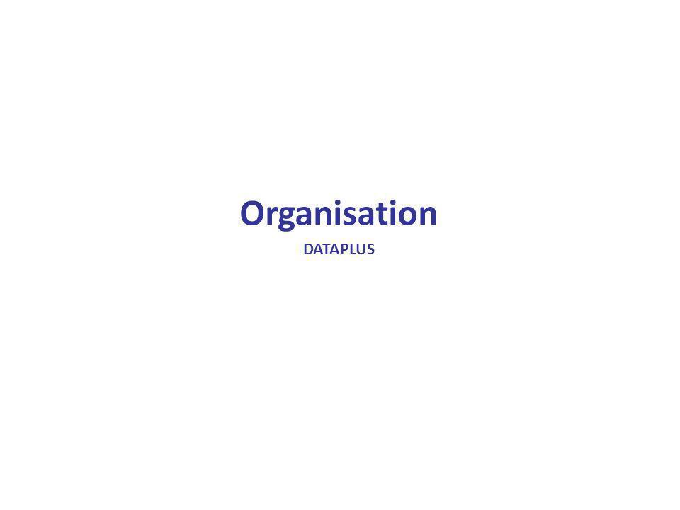 Organisation DATAPLUS