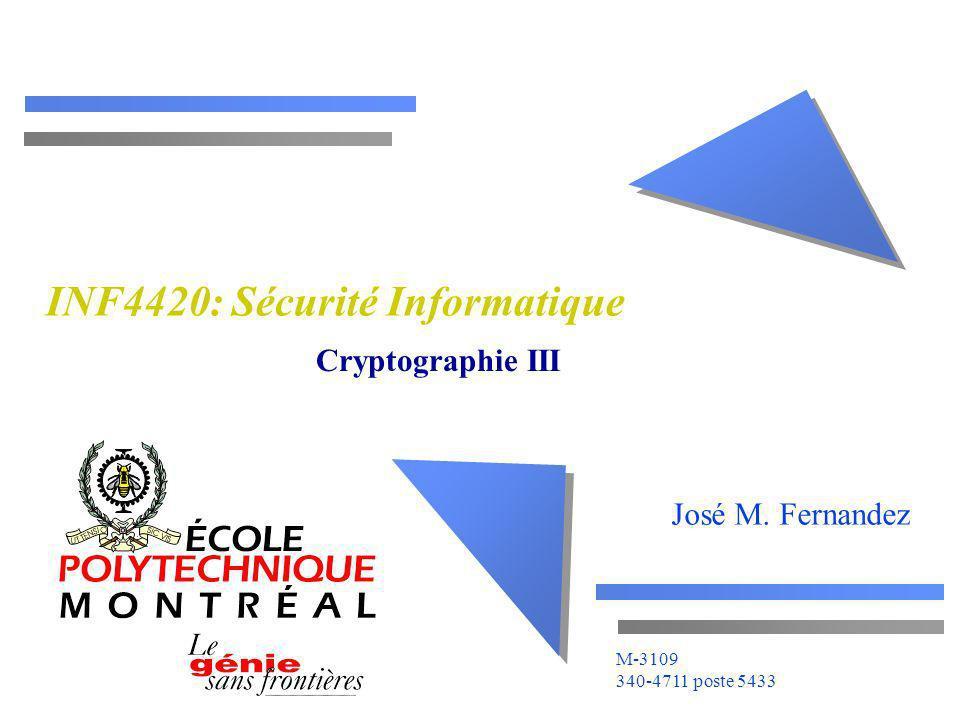 INF4420: Sécurité Informatique