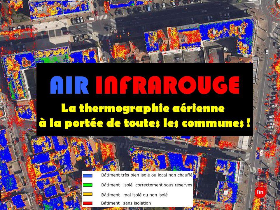 La thermographie aérienne à la portée de toutes les communes !