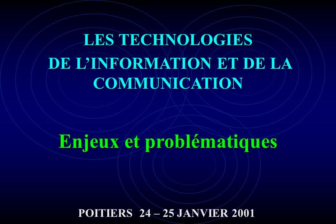 DE L'INFORMATION ET DE LA COMMUNICATION