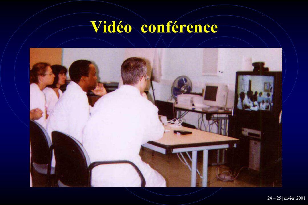 Vidéo conférence 24 – 25 janvier 2001