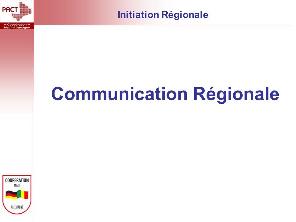 Communication Régionale