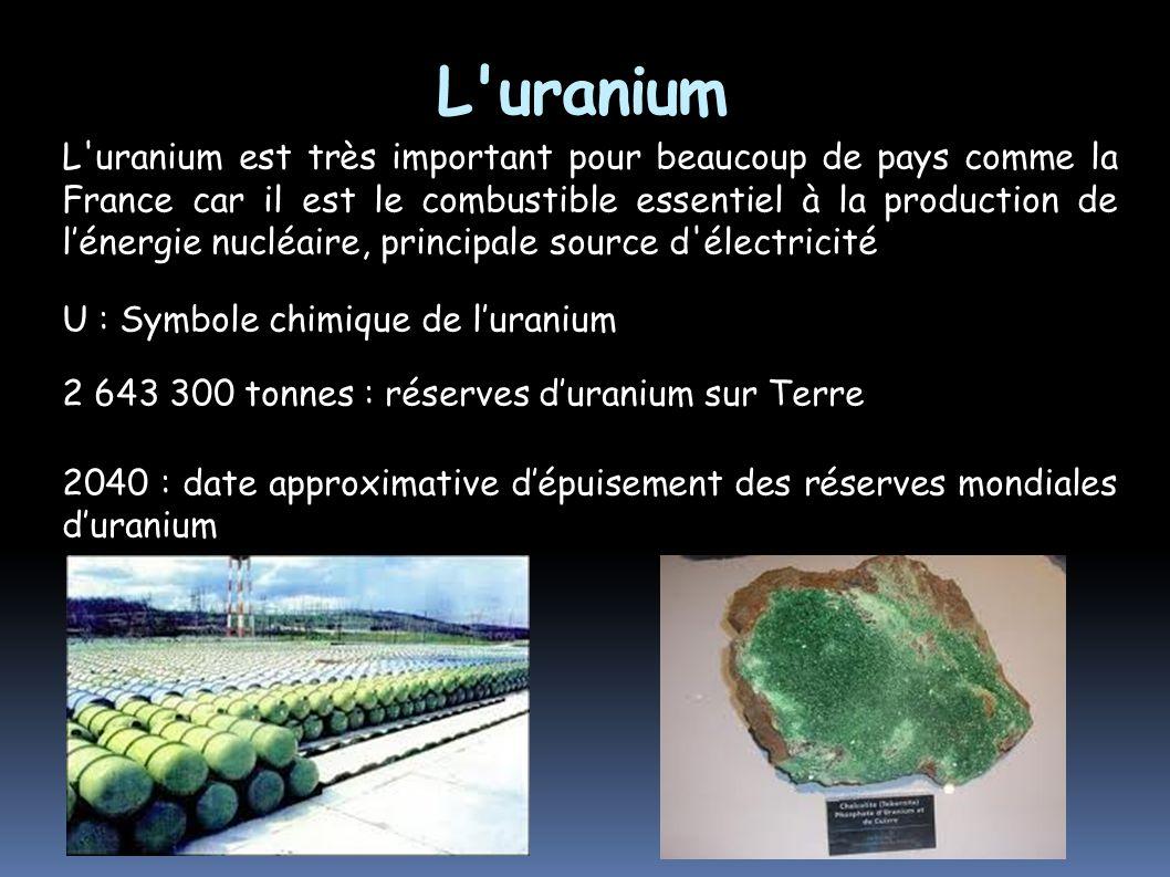 L uranium