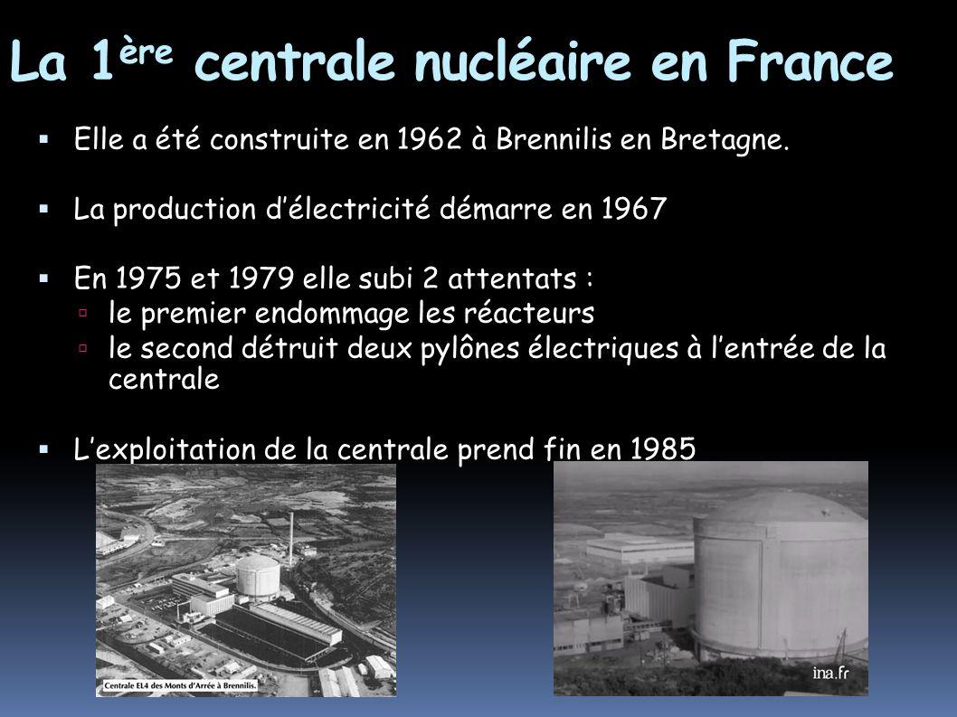 La 1ère centrale nucléaire en France