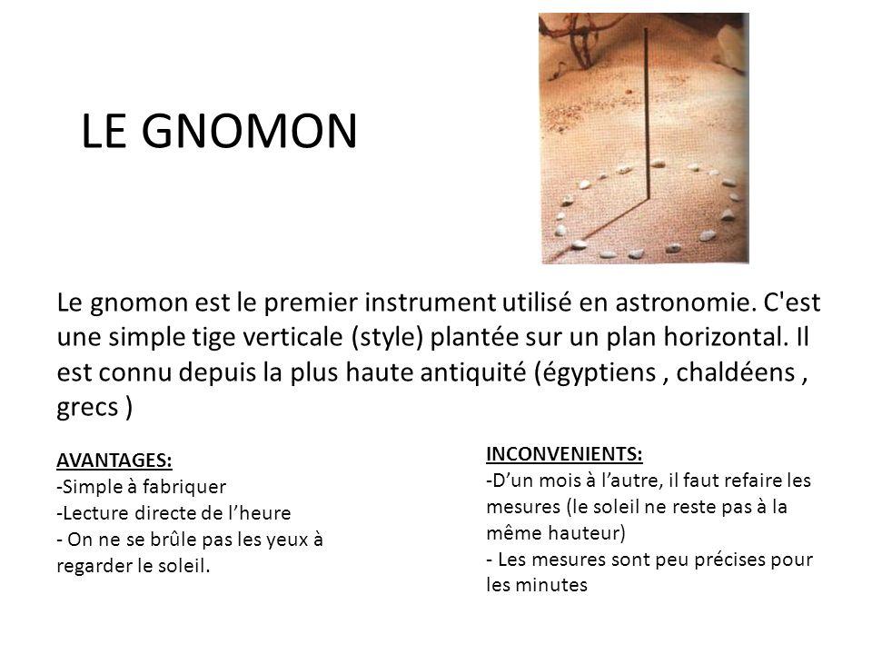 LE GNOMON