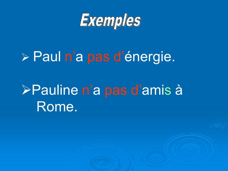 Pauline n'a pas d'amis à Rome.