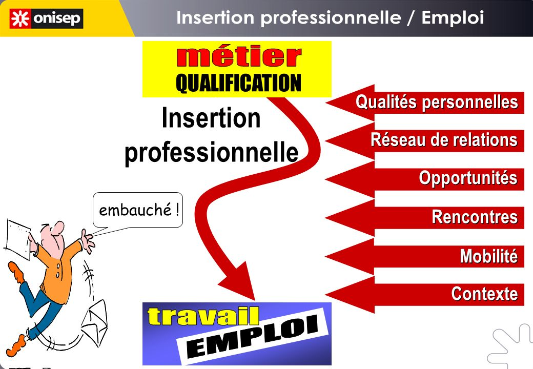 Insertion professionnelle / Emploi