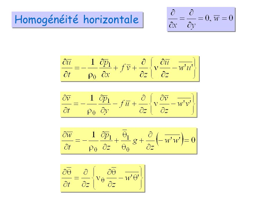 Homogénéité horizontale