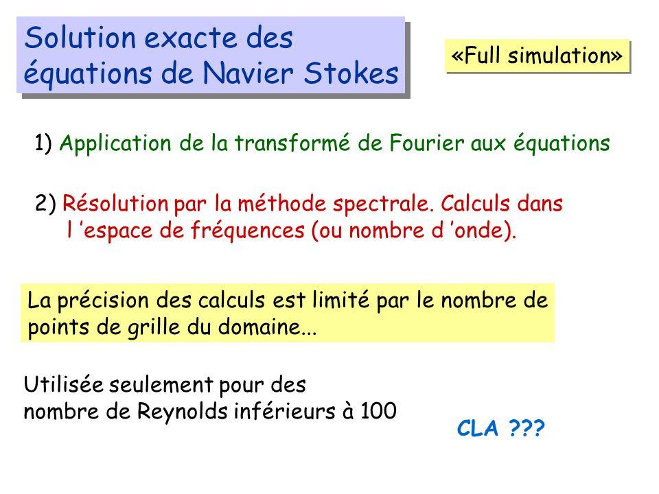 équations de Navier Stokes