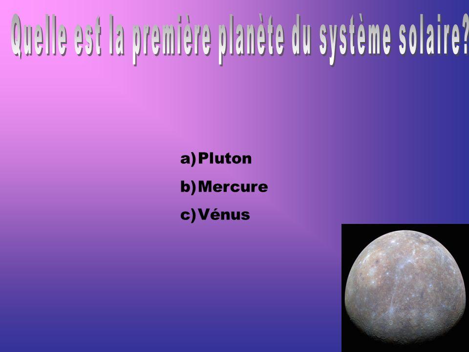 Quelle est la première planète du système solaire