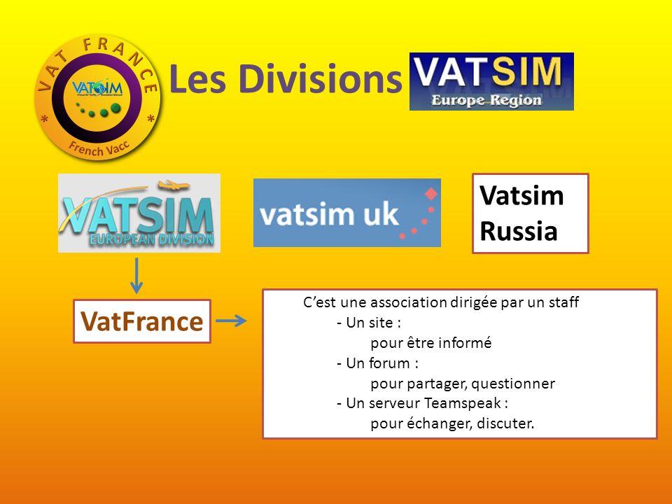 Les Divisions VatEUR Vatsim Russia VatFrance