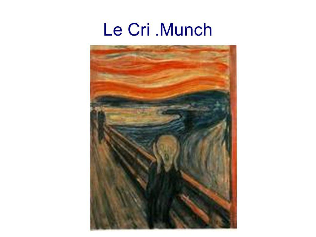 Le Cri .Munch