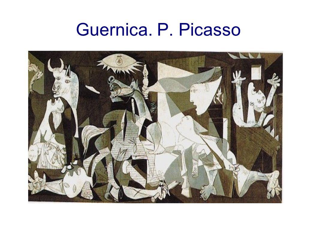 Guernica. P. Picasso