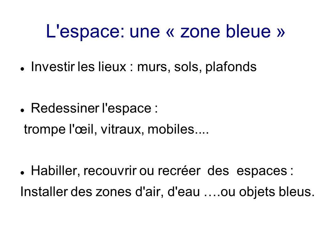 L espace: une « zone bleue »