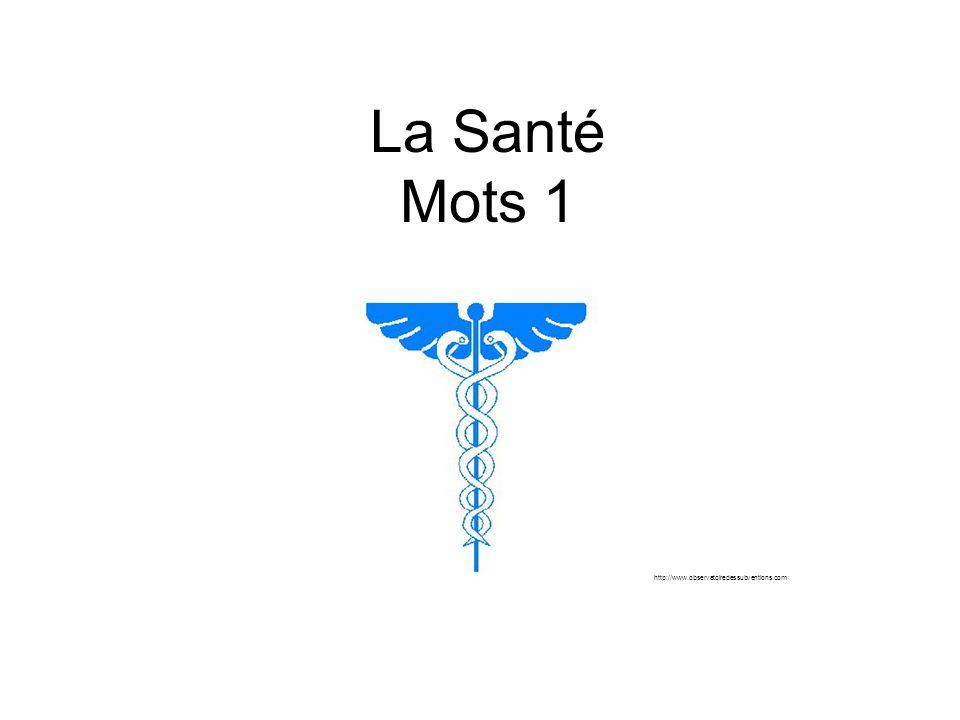 La Santé Mots 1 http://www.observatoiredessubventions.com