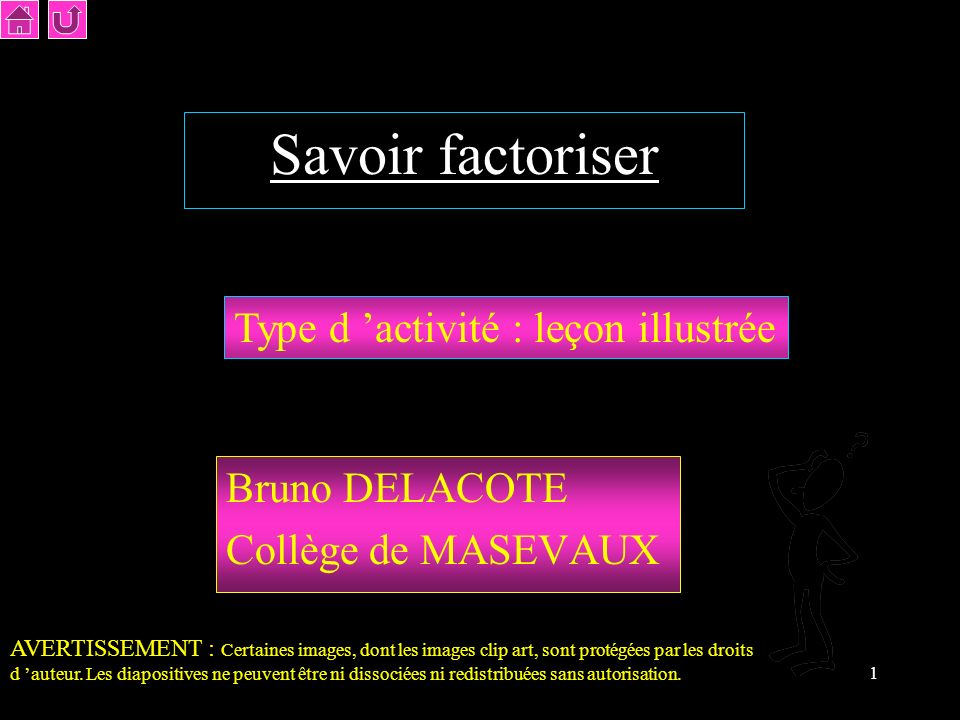 Bruno DELACOTE Collège de MASEVAUX
