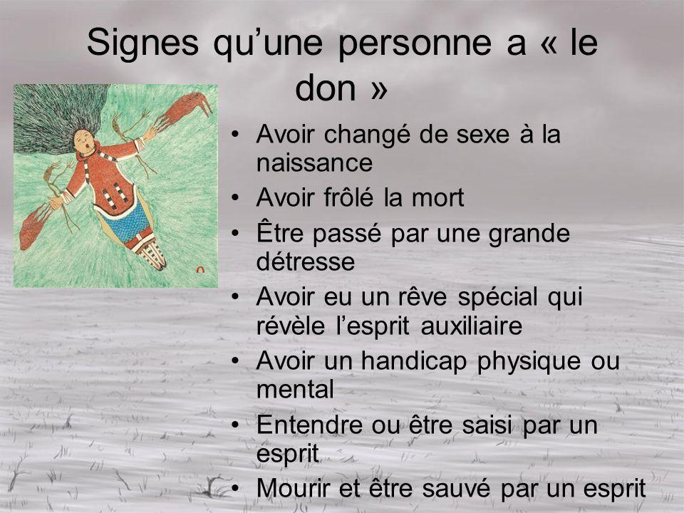 Signes qu'une personne a « le don »