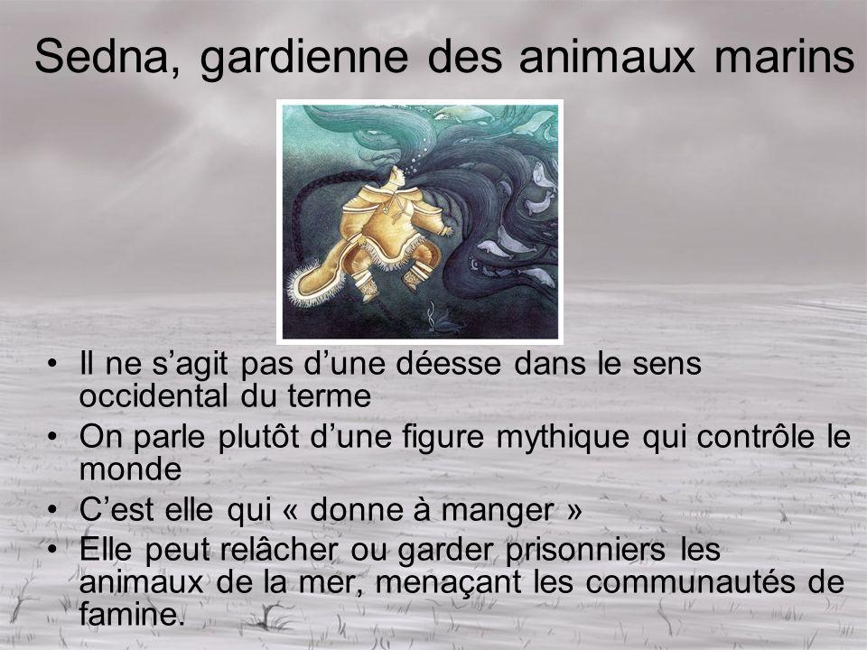 Sedna, gardienne des animaux marins