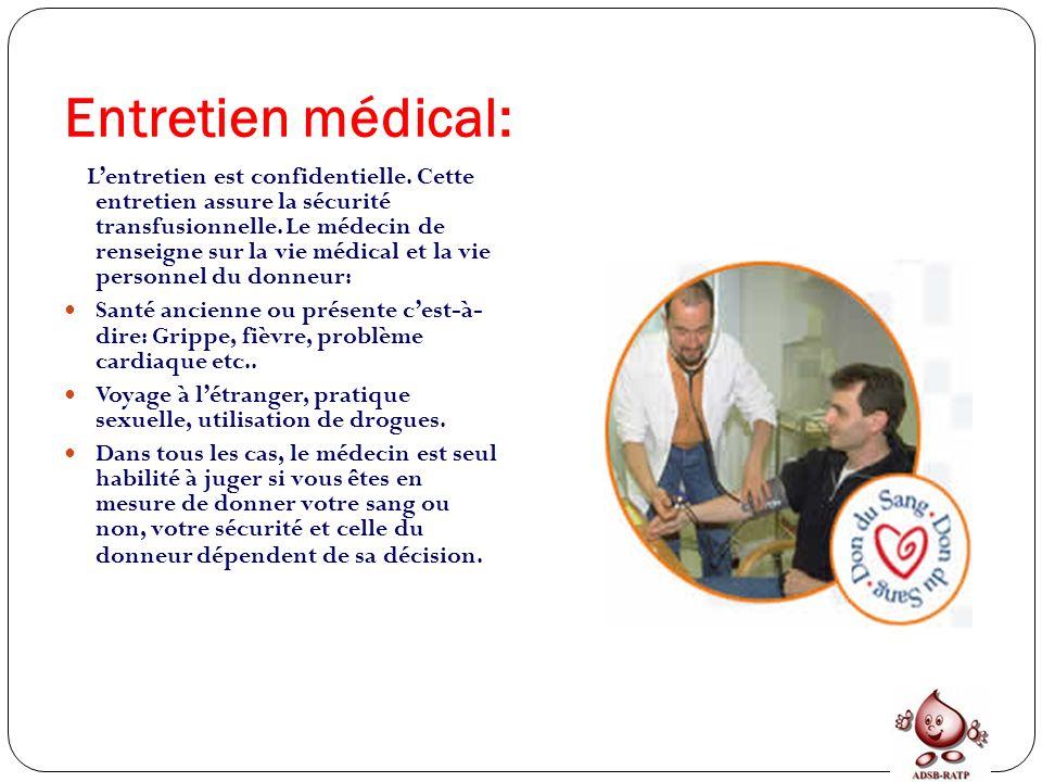 Entretien médical: