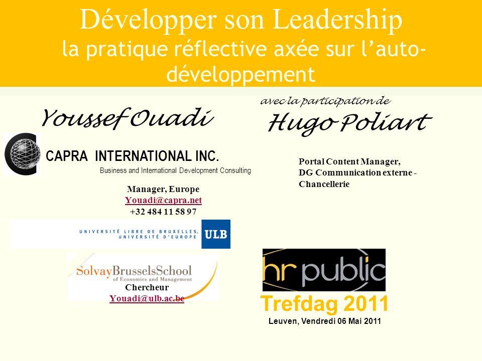 Développer son Leadership la pratique réflective axée sur l'auto-développement