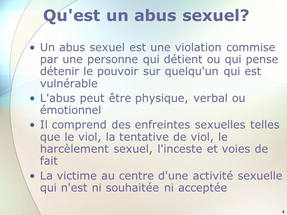 Qu est un abus sexuel