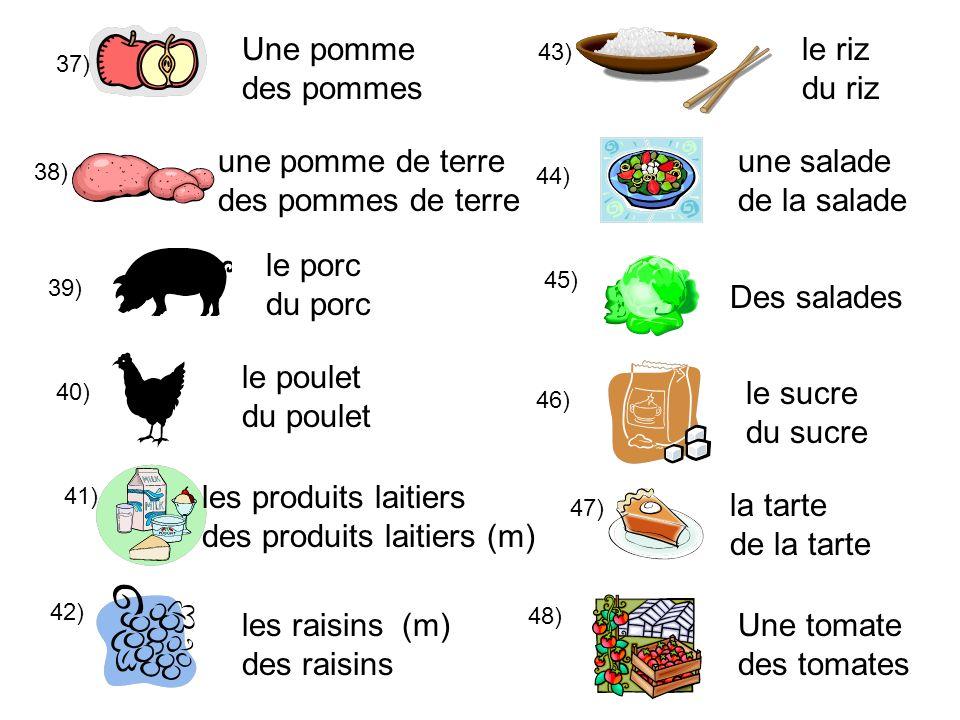des produits laitiers (m) la tarte de la tarte