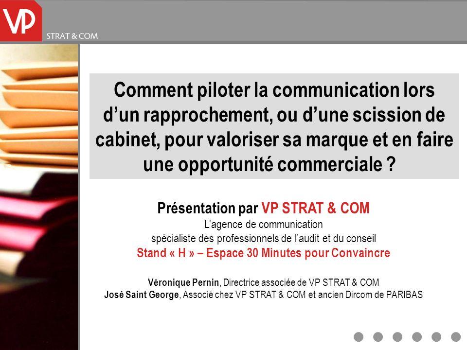 Stand « H » – Espace 30 Minutes pour Convaincre