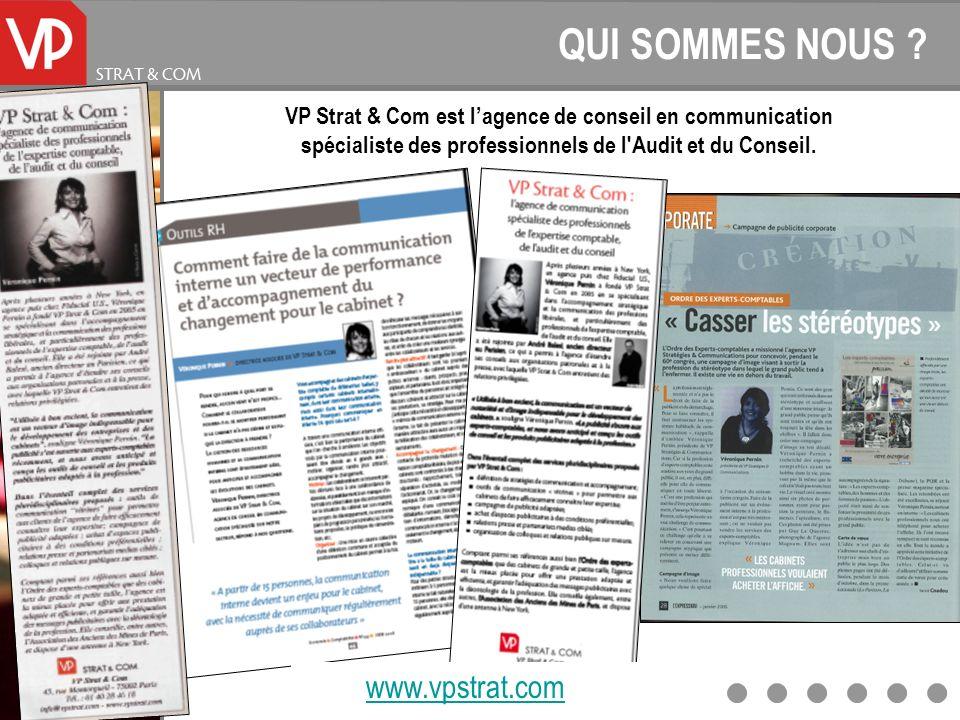 QUI SOMMES NOUS www.vpstrat.com