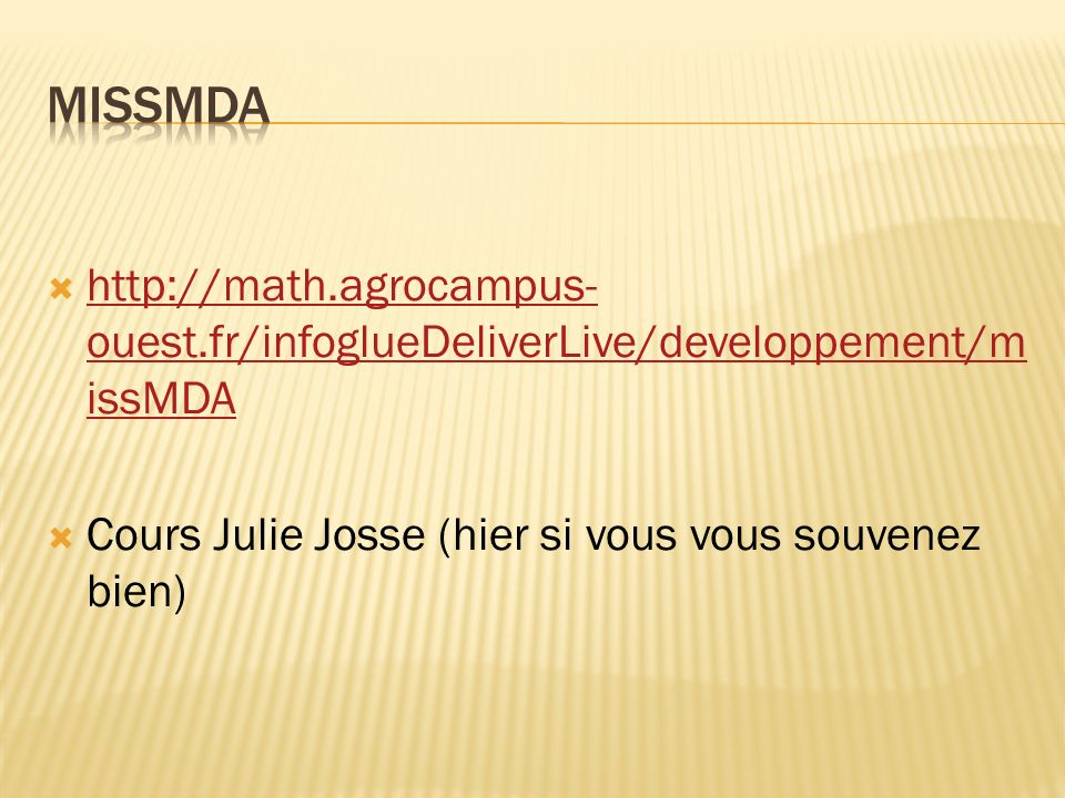 missMDA http://math.agrocampus-ouest.fr/infoglueDeliverLive/developpement/missMDA.