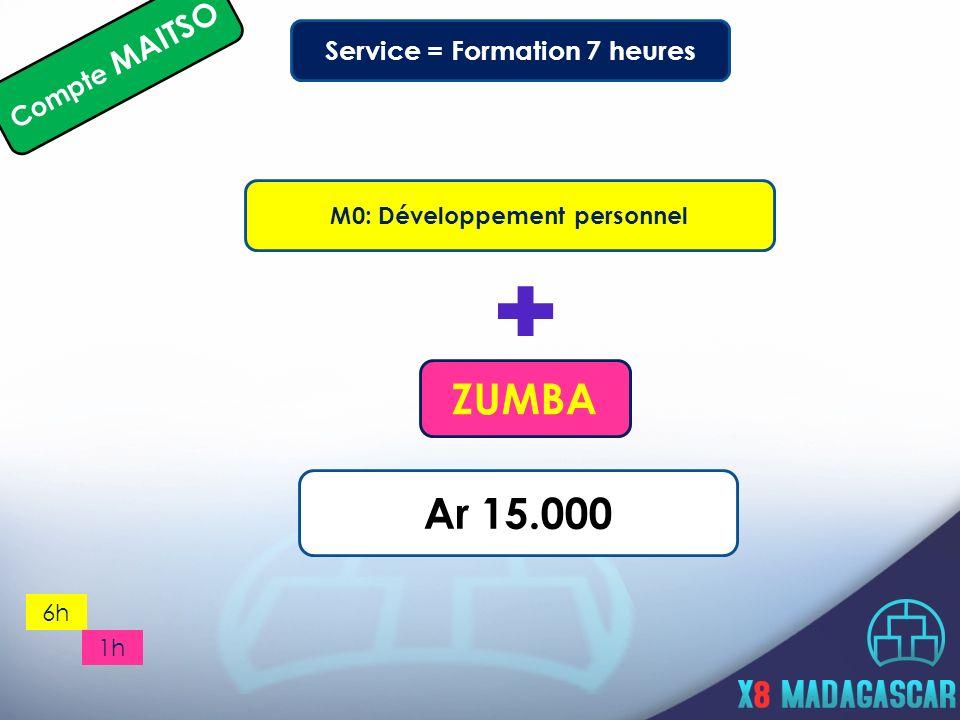 Service = Formation 7 heures M0: Développement personnel