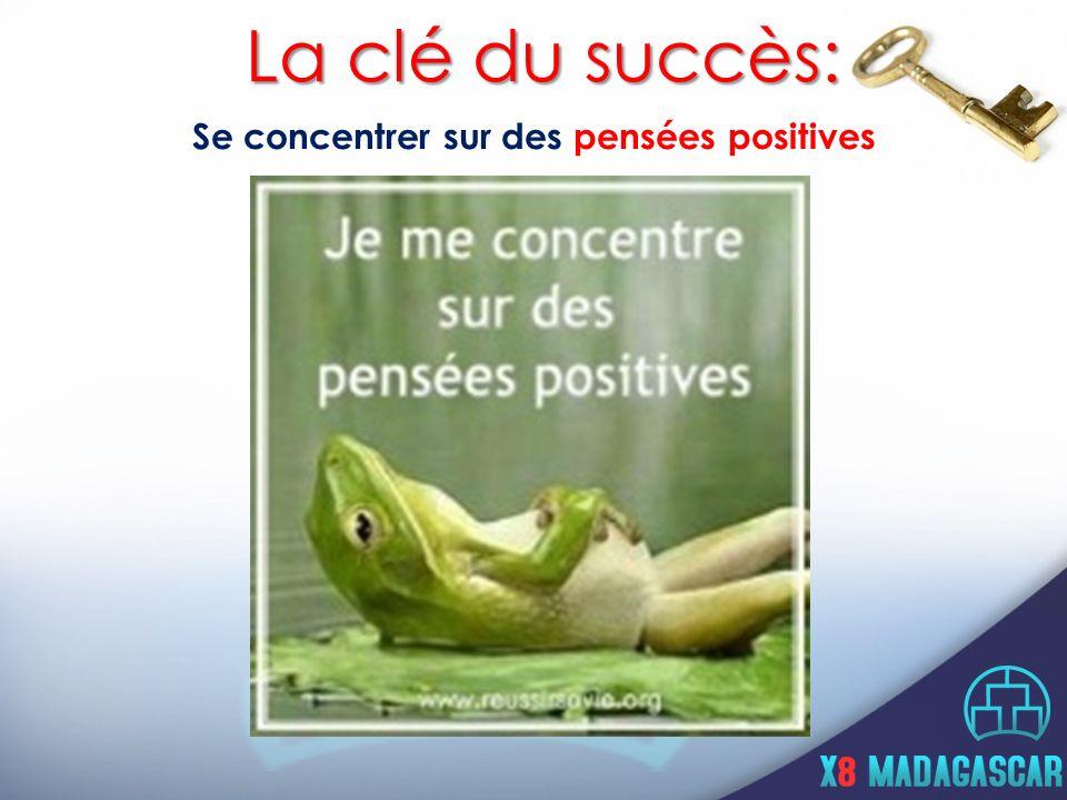 Se concentrer sur des pensées positives