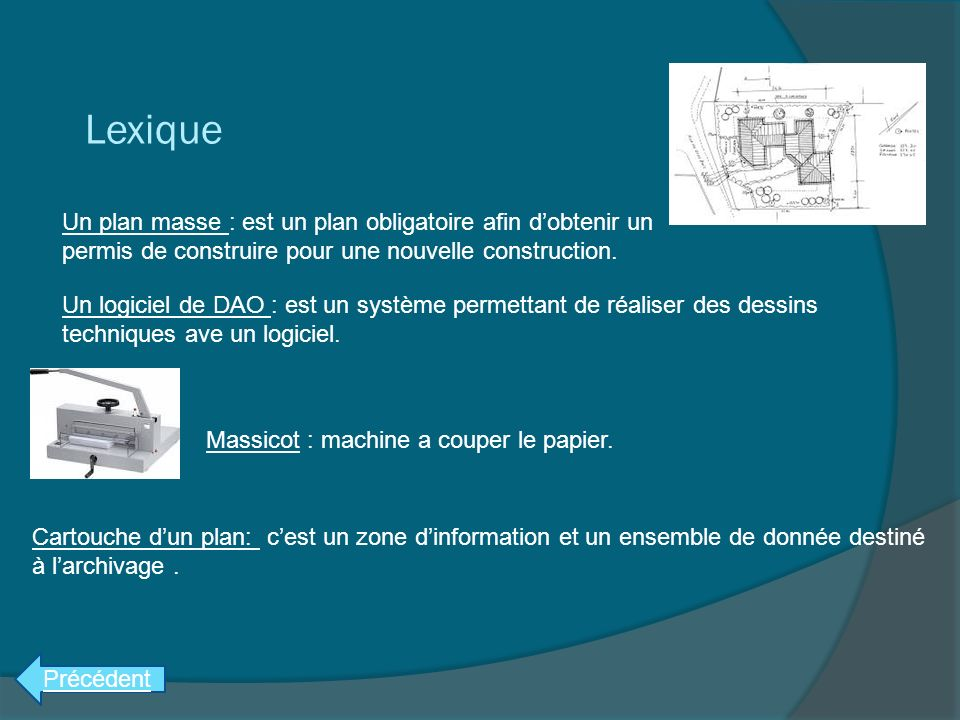 Rapport de stage en entreprise atelier ppt video online for Obtenir des plans