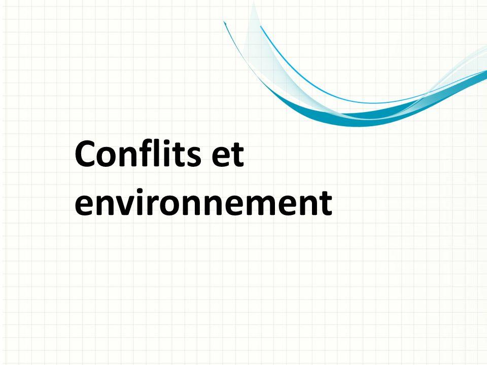 Conflits et environnement