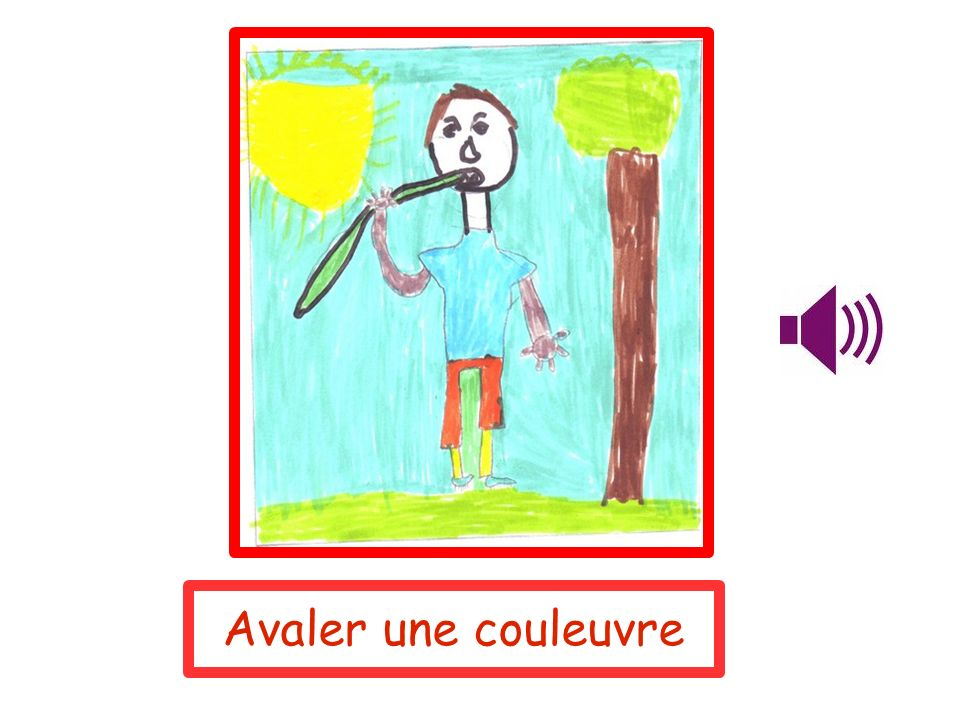 Avaler une couleuvre