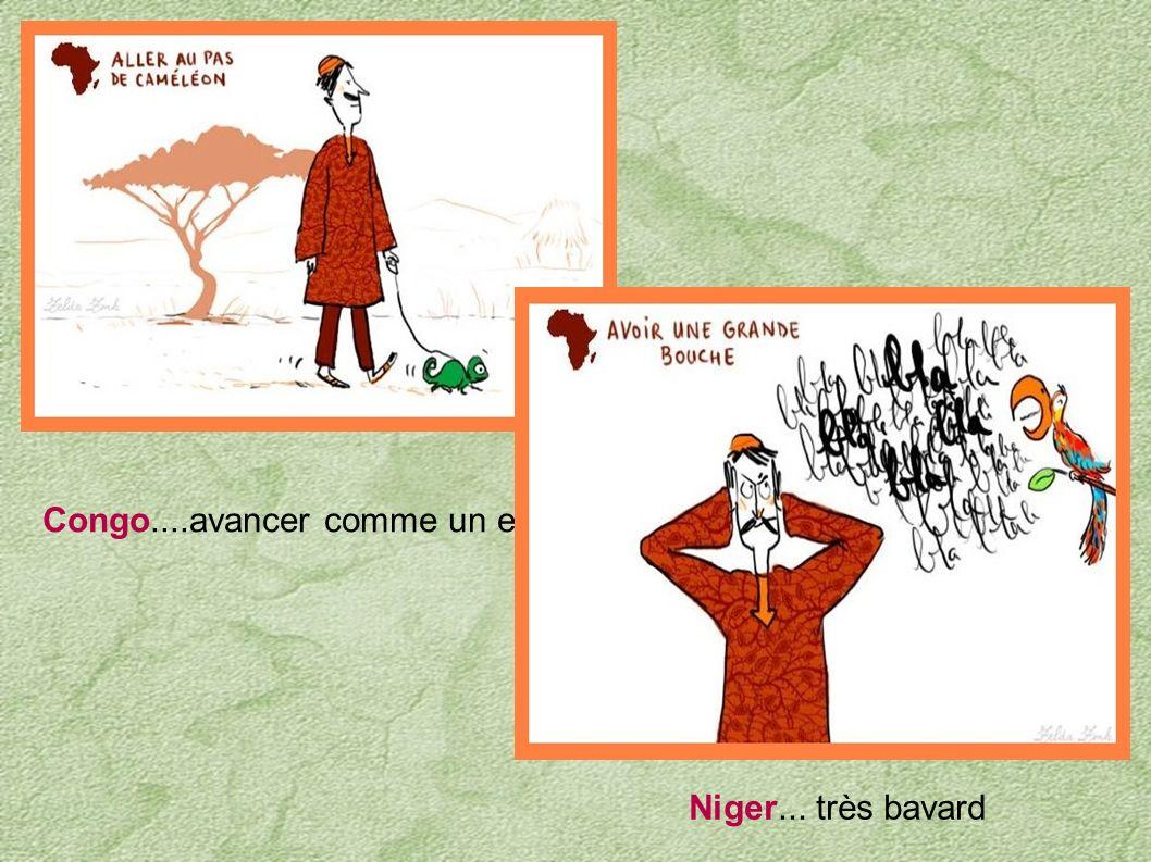 Congo....avancer comme un escargot