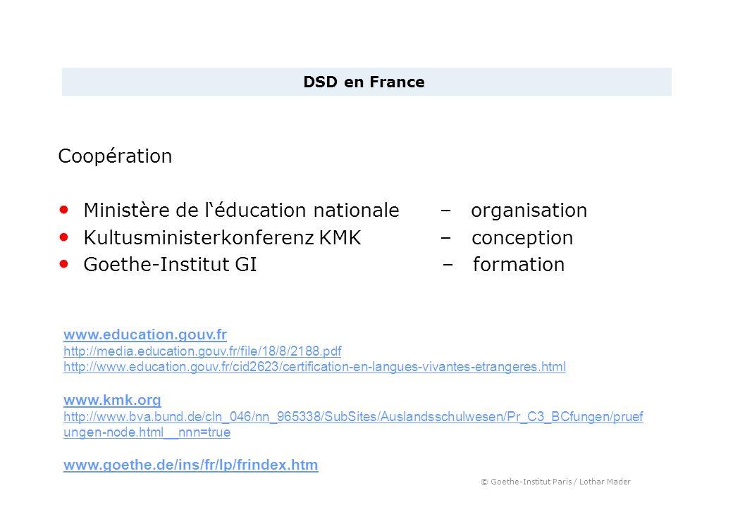 Ministère de l'éducation nationale – organisation