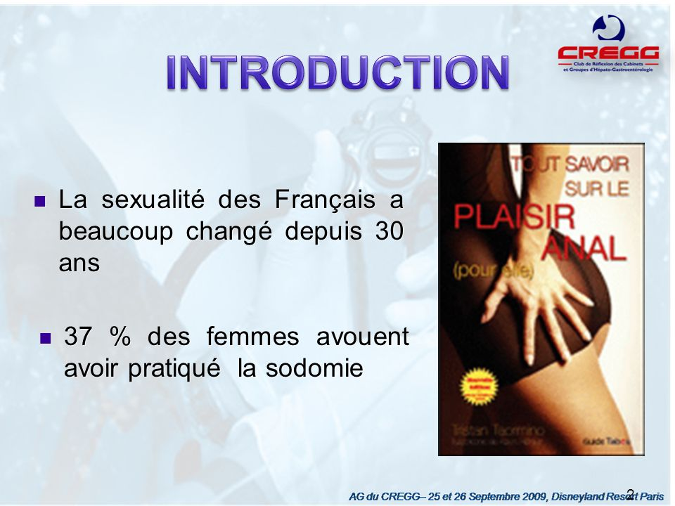 INTRODUCTION La sexualité des Français a beaucoup changé depuis 30 ans