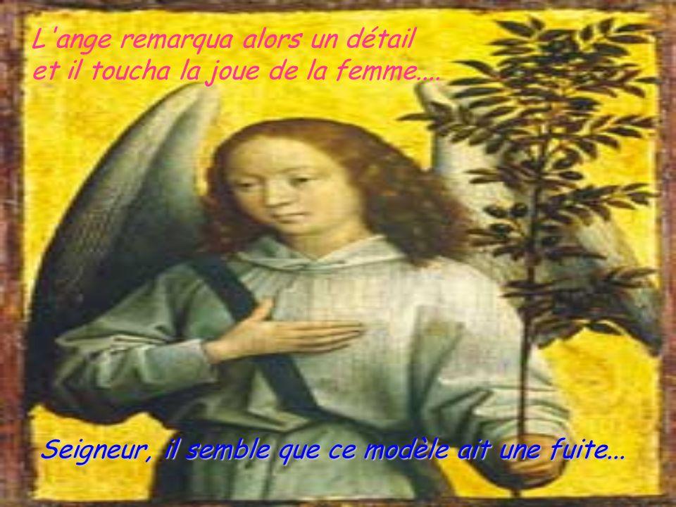 L ange remarqua alors un détail