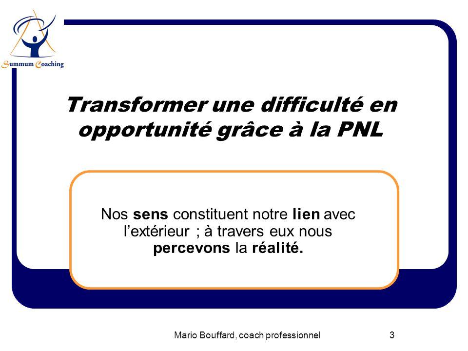 Transformer une difficulté en opportunité grâce à la PNL
