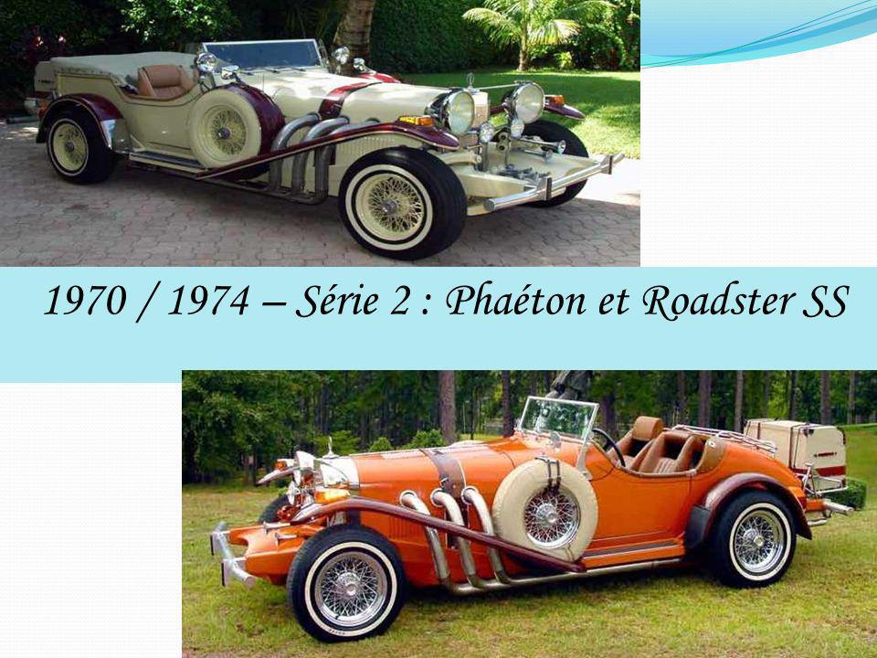 1970 / 1974 – Série 2 : Phaéton et Roadster SS
