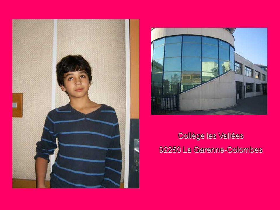 Collège les Vallées 92250 La Garenne-Colombes