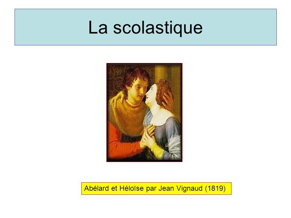 La scolastique Abélard et Héloïse par Jean Vignaud (1819)