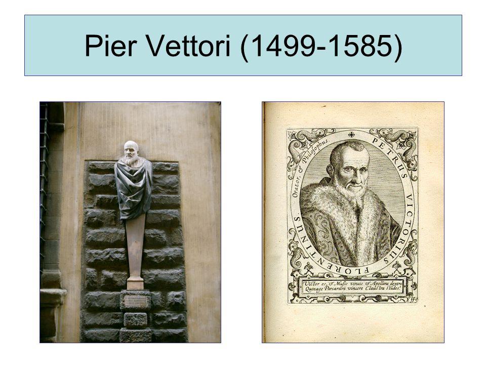 Pier Vettori (1499-1585)