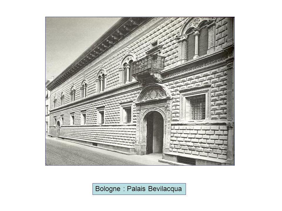 Bologne : Palais Bevilacqua