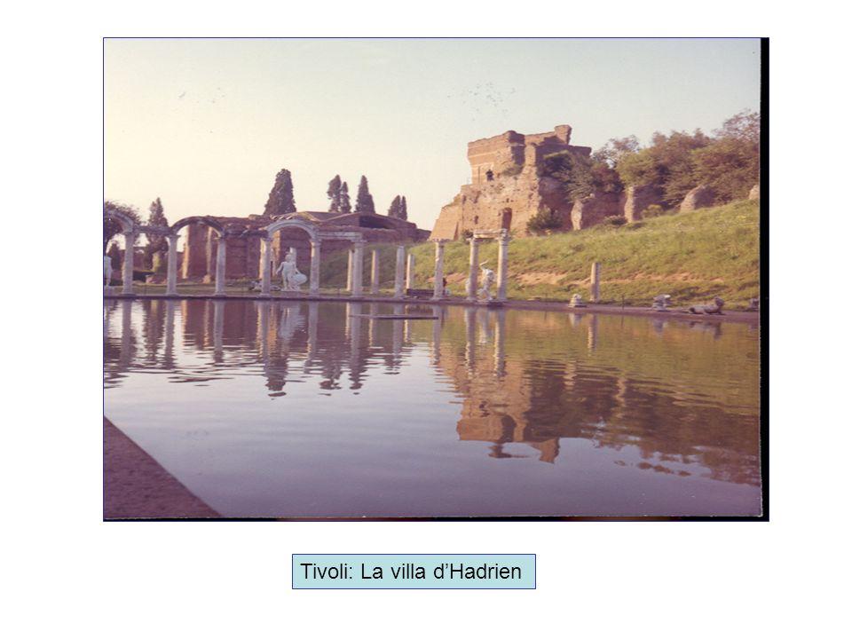 Tivoli: La villa d'Hadrien