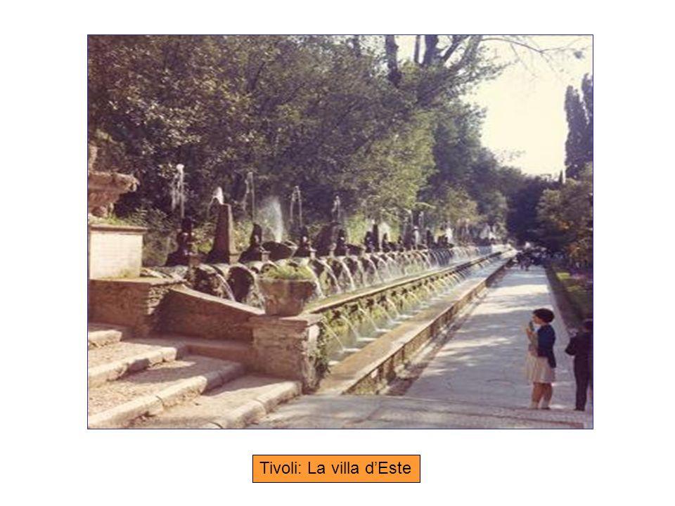 Tivoli: La villa d'Este