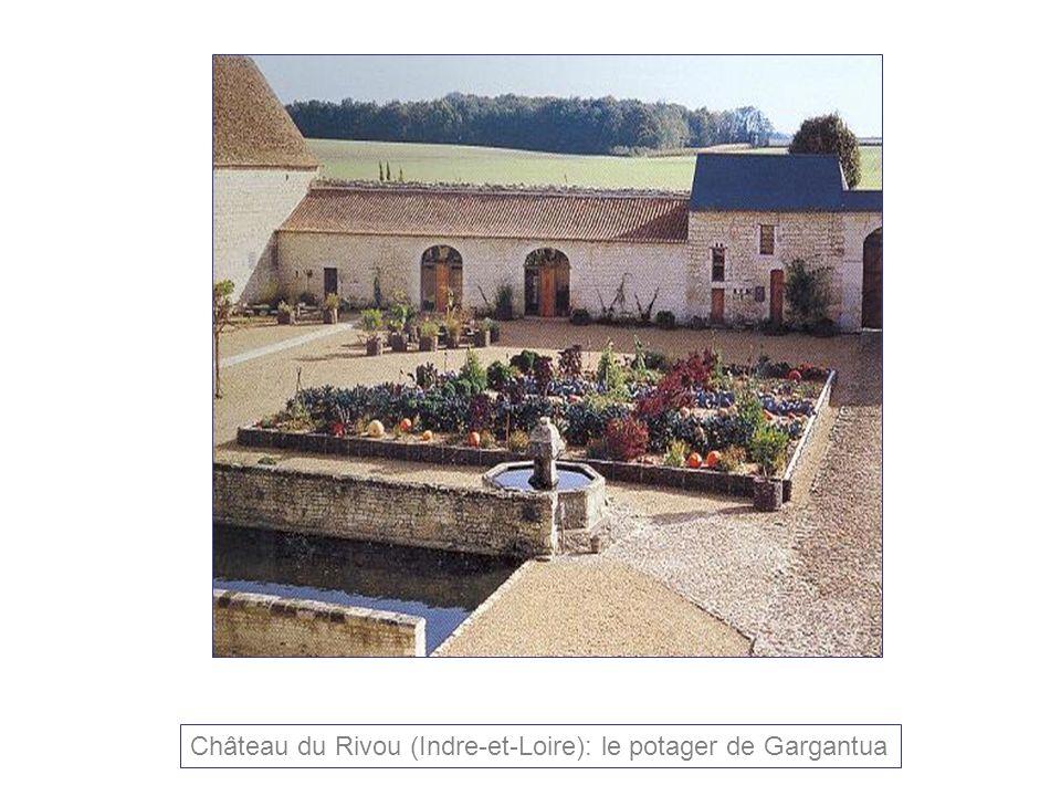 Château du Rivou (Indre-et-Loire): le potager de Gargantua