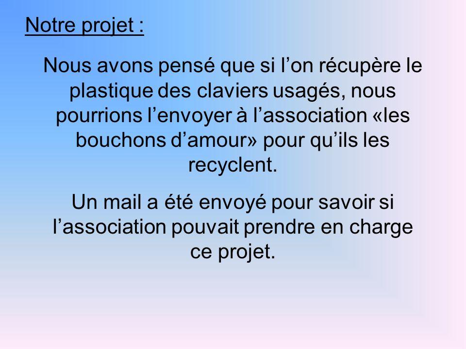 Notre projet :