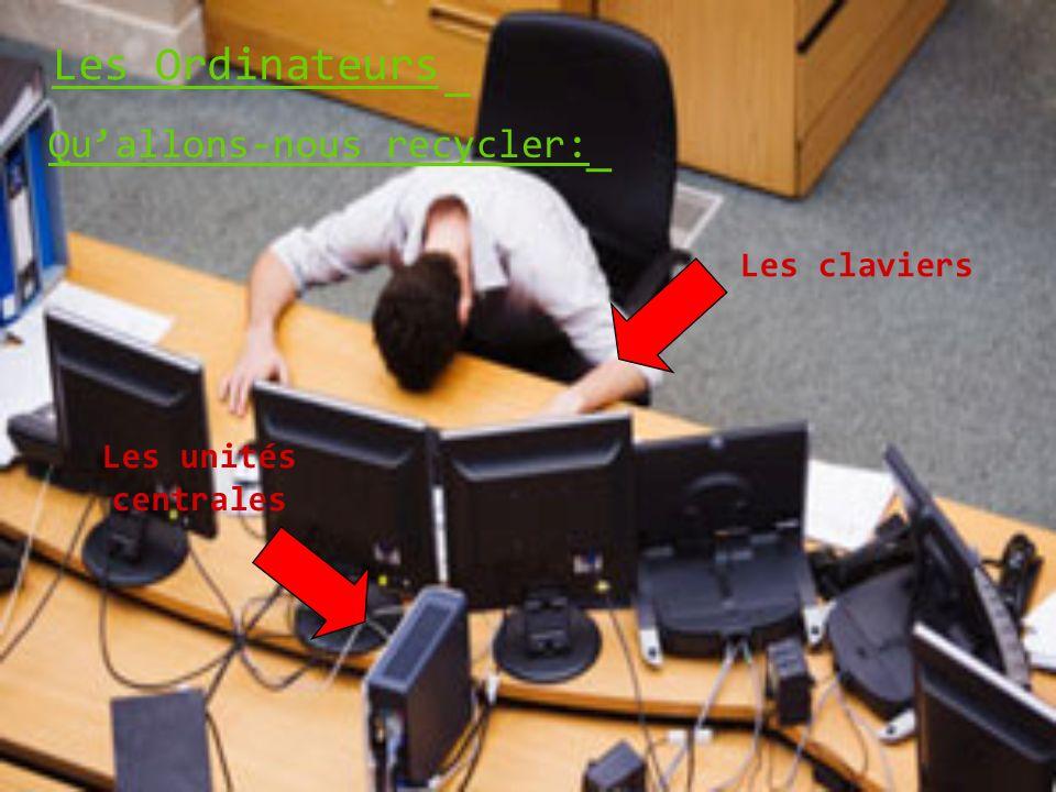 Les Ordinateurs _ _ Qu'allons-nous recycler: Les claviers