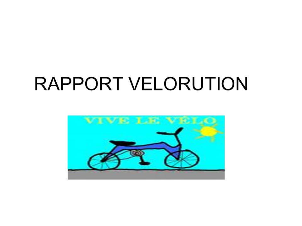 RAPPORT VELORUTION